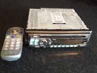 Alpine CD Radio with remote controller