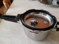 VINOD Stainless Steel 5 Litre Pressure Cooker