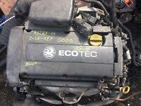 VAUXHALL ASTRA, ZAFIRA & MERIVA 1.6, (ENGINE CODE: Z16 XEP) ENGINE, FOR SALE