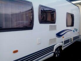 4 Berth Caravan like new...23ft...2008.