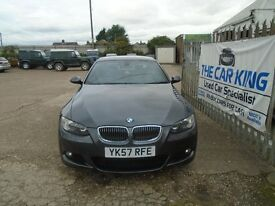 BMW 3 SERIES 3.0 330d M Sport 2dr Auto (grey) 2007