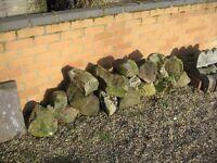 Rockery Boulder Stones - Granite