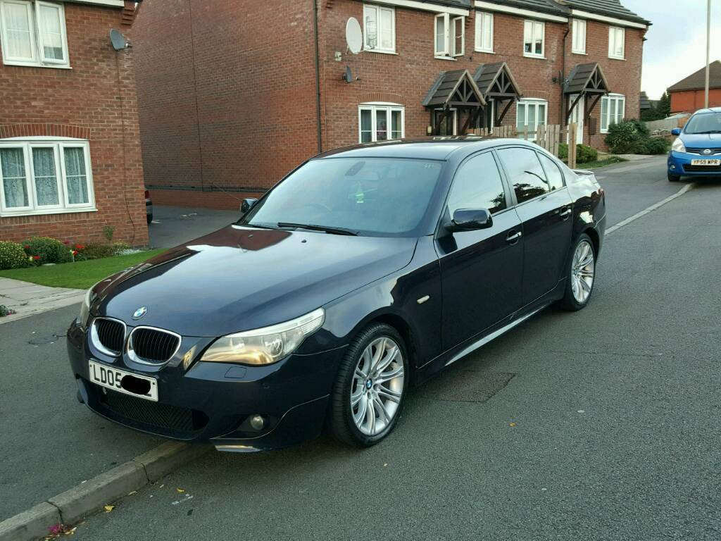 bmw 525d m sport auto in leicester leicestershire gumtree. Black Bedroom Furniture Sets. Home Design Ideas