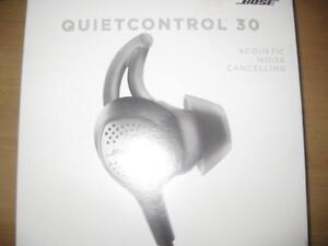 Bose Quiet Control QC30 Wireless Bluetooth Headphones / Earbuds Mic. NFC. Light Weight. Sweat / Water Resistant. 10 hour