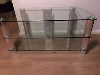 Glass TV/DVD Stand