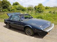 Fiat X1/9, X19 Gran Finale Breaking for Spare parts .