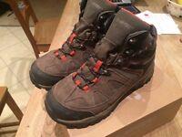 Hi-Tec Mens Boys Waterproof Hiking Walking Boots Shoes Size UK 7 EU 41