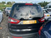Ford galaxy 2008 black breaking