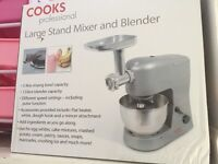 large mixer and blender