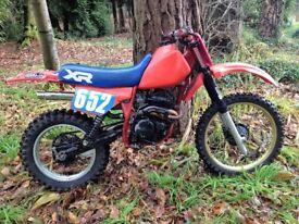 honda xr 250 twinshock off road ,enduro motorbike