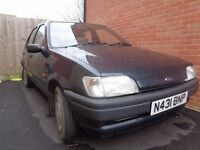 MAKE AN OFFER - MUST GO! Ford Fiesta - 1.1 - 1996 - 2 Owners from New (same family) - 57,492 Miles