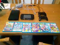 Wiiu console and games