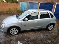 Vauxhall Corsa. Lots of extras. Low miles and excellent condition 06 reg