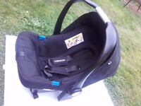 Still available Free MotherCare 0-13kg BLACK car seat conforms ECE R 44/04 so road legal