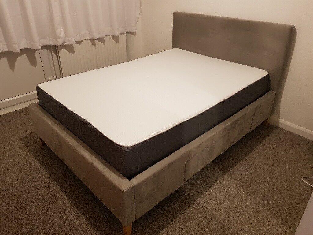 deab1ee6224f John Lewis Emily Storage Bed, Double, and Simba Hybrid Mattress ...