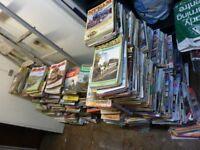 Job lot Railway Magazines