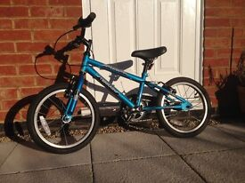 Boys Turbo Terrain Bike for 5 to 7 year old.