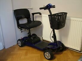 IN BRAND NEW CONDITION FOLDING MOBILITY SCOOTER ( WAS NEVER USED )