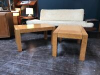 Pair of Birdseye Maple Coffee Tables by G Plan. Retro Vintage Mid Century