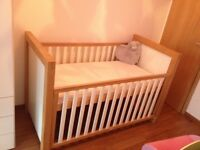 Kub (Amana ) Cot / Juniors bed with mattress 70x140 cm