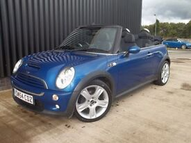 2004 (54) MINI Convertible 1.6 Cooper S Over £2500 Worth Of Extras, 2 Keys May PX Finance Available