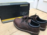 Dr. Martens Air Wair Industrial Steel Toe Safety Shoes – Gaucho Brown Leather