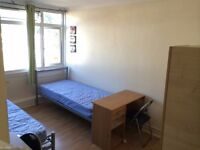 ***LOVELY SPACIOUS TWIN ROOM in Friendly flatshare (ALL BILLS INCLUSIVE )***