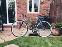 Charge Plug Racer — Fixed gear / Fixie / Single Speed Bike — Medium (53) — Charge Slice Track Bar