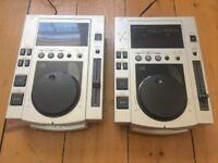 Pair of Vintage CD Players - Pioneer CDJ-1000S CJD Decks DJ Turntable Retro