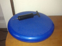 Wobble Balance Board with Free Pump - Perfect for improving sitting posture or fitness £4