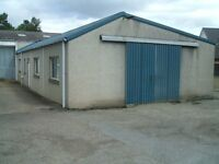 Business premises workshop/storage near Elgin.