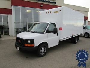 2016 GMC Savana 16 Ft Cube Van