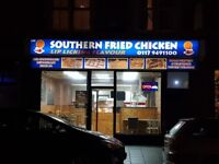 Business for sale Gloucester Road (Southern Fried Chicken)