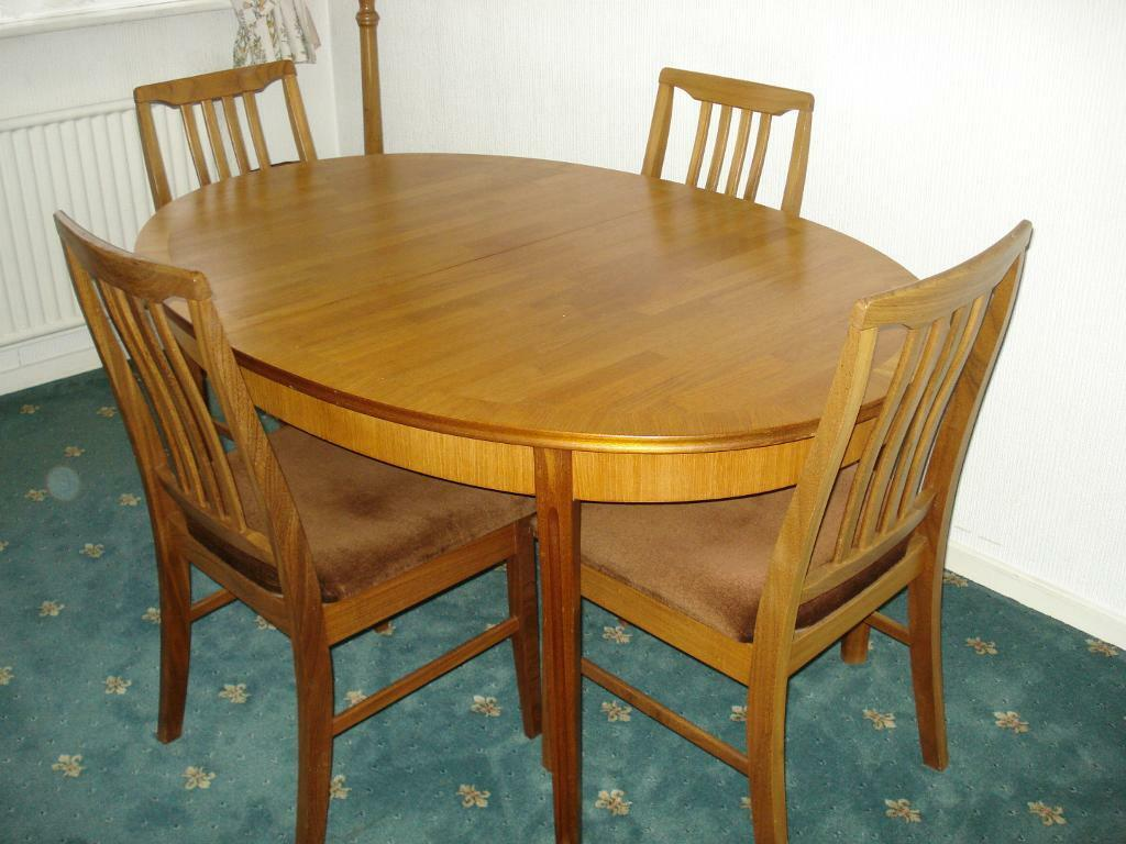 Dining Table and Chairs in Wollaton Nottinghamshire  : 86 from www.gumtree.com size 1024 x 768 jpeg 92kB