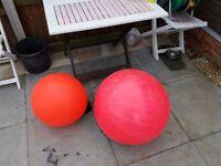 2x large buoys fishing sailing ect
