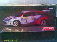 kyosho wrc ford focus 1/10 scale