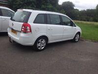 Vauxhall zafira 2013 1.6 exclusiv