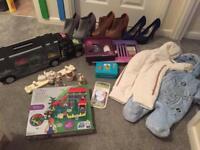 Toys shoes size 5 clothes Snowsuit 2-4 Beatrix potter