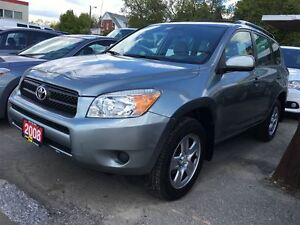 2008 Toyota RAV4 WE FINANCE/ A FAMILY OWNED BUSINESS- 34 YEARS ! Kitchener / Waterloo Kitchener Area image 3