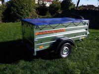 Trailer cars 6x4 double broadside £620 inc vat
