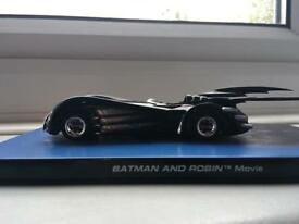 Collectible batman car from the movie Batman and Robin/ BATMAN AND ROBIN'TM Movie
