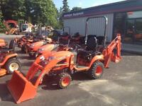 0% FINANCING FOR 60 MONTHS ON BX, B, l,m & KX  SERIES TRACTORS
