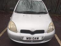 2000 TOYOTA Yaris 1 Litre 3Doors Hatchback * New MOT