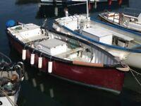 Fishing Boat Diesel Inboard 20 Feet Long
