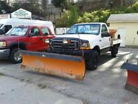 2001 Ford F-250 4X4 7.3 Bullet proof diesel Plow and Salter