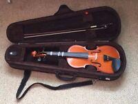 Stentor 1/2 sized Violin
