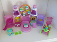 VINTAGE Magical Jewel Pet Castle - Play Set.. Rare