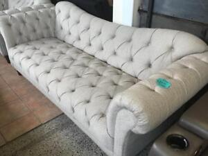 Tufted Sofa , Love and Chair brand new
