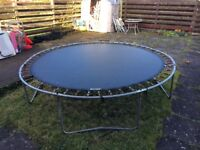 FREE 10ft Trampoline, needs new safety net but otherwise in pretty good condition