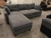 Brand new grey corner sofa